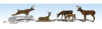 Woodland Scenics Deer -- N Scale Model Railroad Figure -- #a2185