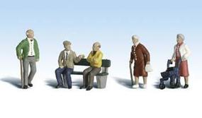Woodland Senior Citizens N Scale Model Railroad Figure #a2201