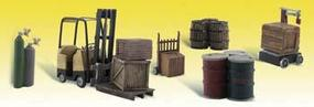 Woodland Loading Dock Details N Scale Model Railroad Building Accessory #a2208