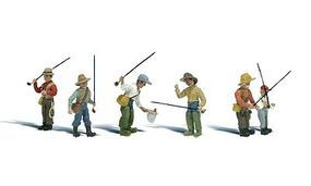 Woodland Fly Fisherman N Scale Model Railroad Figure #a2215
