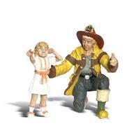 Woodland Scenic Accents(R) Figures - Spike, Neil & Ty G Scale Model Railroad Figure #a2542