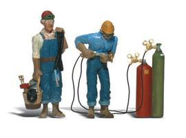 Woodland Scenic Accents(R) Figures Welder Brothers G Scale Model Railroad Figure #a2544