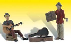 Woodland Scenic Accents(R) Figures Begging for Bucks G Scale Model Railroad Figures #a2563