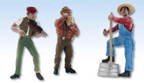 Woodland Scenic Accents(R) Figures Juniors Jug Band G Scale Model Railroad Figure #a2570