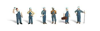Woodland Train Mechanics O Scale Model Railroad Figure #a2721