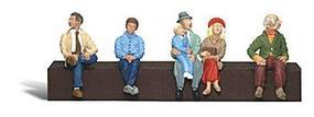 Woodland Passengers O Scale Model Railroad Figure #a2731