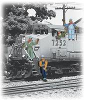Woodland Engineers O Scale Model Railroad Figure #a2733
