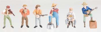 Woodland Jug Band O Scale Model Railroad Figure #a2743