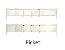 Woodland O Picket Fence