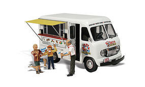 Woodland Ikes Ice Cream Truck AutoScenes N Scale Model Railroad Vehicle #as5338