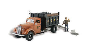 Woodland Lumpys Coal Company AutoScenes N Scale Model Railroad Vehicle #as5345