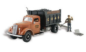Woodland Lumpys Coal Company Autoscene HO Scale Model Railroad Vehicle #as5555