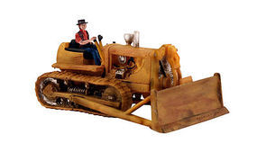 Woodland Dewies Dozer Autoscene HO Scale Model Railroad Vehicle #as5562