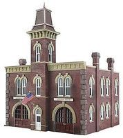 Woodland Firehouse N Scale Model Railroad Building #br4934