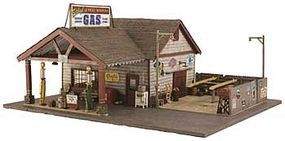 Woodland Built-N-Ready Ethyls Gas/Service N Scale Model Railroad Building #br4935