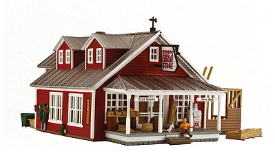 Woodland Country Store Expansion HO Scale Model Railroad Building #br5031