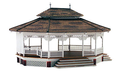 Woodland Scenics Grand Gazebo -- HO Scale Model Railroad Building -- #br5035