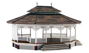 Woodland Grand Gazebo HO Scale Model Railroad Building #br5035