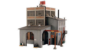 Woodland Meg A. Watts Transformers HO Scale Model Railroad Building #br5037