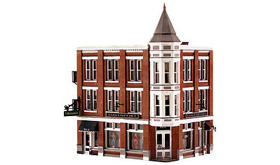 Woodland Davenport Department Store HO Scale Model Railroad Building #br5039