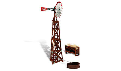 Woodland Windmill HO Scale Model Railroad Building #br5043