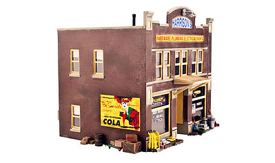 Woodland Harrisons Hardware O Scale Model Railroad Building #br5842