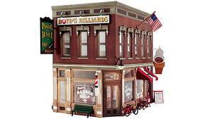 Woodland Corner Emporium O Scale Model Railroad Building #br5844