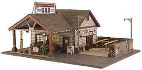 Woodland Ethyls Gas/Service O Scale Model Railroad Building #br5849