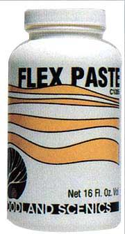 Woodland Scenics Flex Paste -- 16 oz. -- Model Railroad Mold Accessory -- #c1205