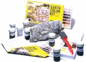 Woodland Scenics Earth Color Kit -- 8 Colors 1 oz. -- Model Railroad Scenery Supply -- #c1215