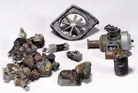 Woodland Scenic Detail Industrial Junk Kit HO Scale Model Railroad Building Accessory #d225