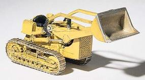Woodland Track Type Loader CAT #6 Metal Kit HO Scale Model Railroad Vehicle #d235