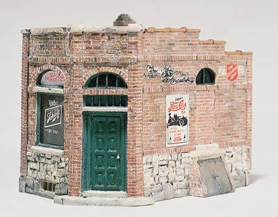 Woodland Scenics Rocky's Tavern Kit HO Scale -- HO Scale Model Railroad Building -- #d238