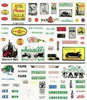 Woodland Dry Transfer Series One Signs & Posters Model Railroad Decal #d245
