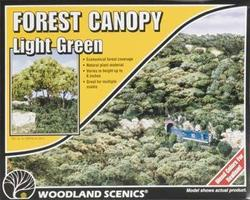 Woodland Forest Canopy Light Green Model Railroad Tree #f1660