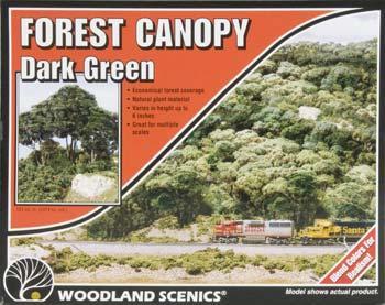 Forest Canopy Dark Green Model Railroad Tree F1662 By