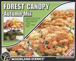 Woodland Forest Canopy Autumn Mix Model Railroad Tree #f1663