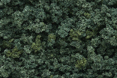 Woodland Underbrush Clump Foliage Medium Green Model Railroad Grass Earth #fc136
