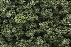 Woodland Bushes Clump Foliage Olive Green Model Railroad Grass Earth #fc144