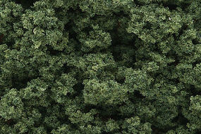 Woodland Clump Foliage Medium Green Model Railroad Tree #fc183