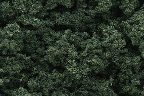 Woodland Clump Foliage Dark Green Model Railroad Tree #fc184