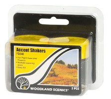 Woodland Empty Accent Shakers (2)