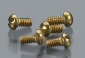 Woodland Round Head Screws 0-80 1/8 (5) (bulk of 3) Model Railroad Scratch Supply #h805