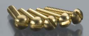 Woodland Round Head Screws 2-56 3/8 (5) (bulk of 3) Model Railroad Scratch Supply #h815