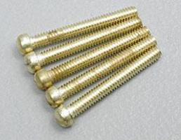Woodland Hob-Bit- Fillister Head Screws 0-80 1/2 (5) Model Railroad Scratch Supply #h828