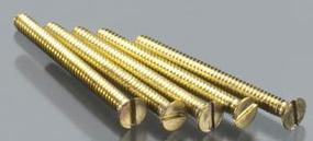 Woodland Flat Head Screws 00-90 1/2 (5) (Bulk of 3) Model Railroad Scratch Supply #h844
