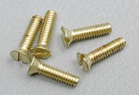 Woodland Flat Head Screws 0-80 1/4 (5) (Bulk of 3) Model Railroad Scratch Supply #h846