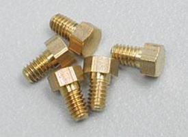 Woodland 1-72 1/8 HEX HEAD SCREWS Model Railroad Scratch Supply #h869