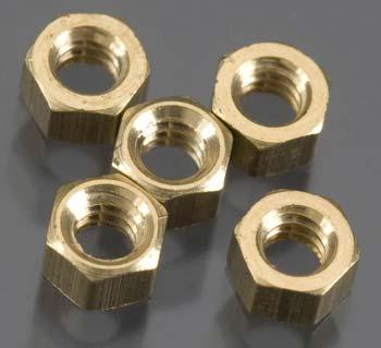Woodland Hex Nuts 2-56 (5) Model Railroad Scratch Supply #h884