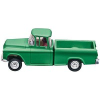 Woodland Just Plug Lighted Green Pickup HO Scale Model Railroad Vehicle #jp5590